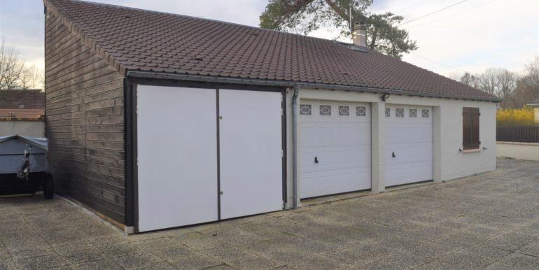 2) garage